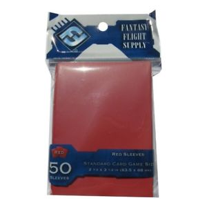Fantasy Flight Supply: Red Card Sleeves