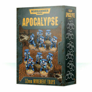 WH40K: Apocalypse Movement Tray 32mm