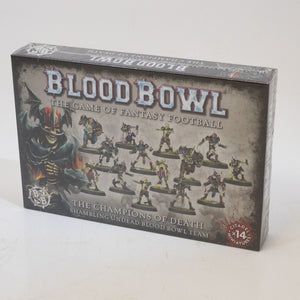 Bloodbowl: Champions of Death Necromantic team