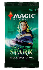 Magic The Gathering: War of the Spark Boosters
