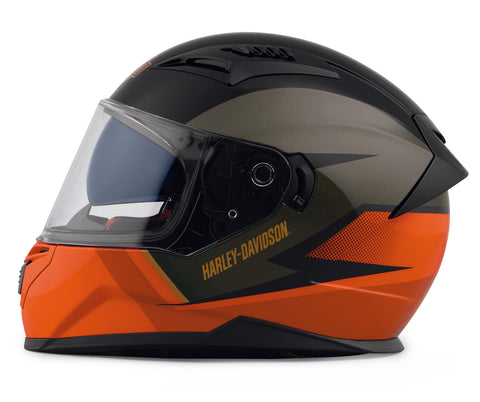 Full-Face Helmet M05 Killian orange ECE