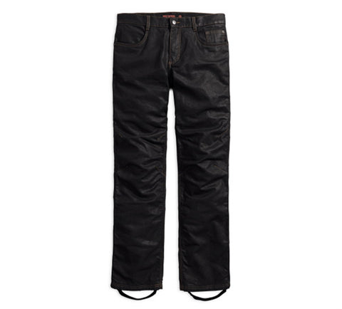 Waxed Denim Performance Riding Jeans