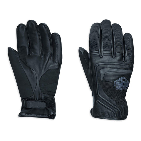 B&S Leather & Mesh Gloves