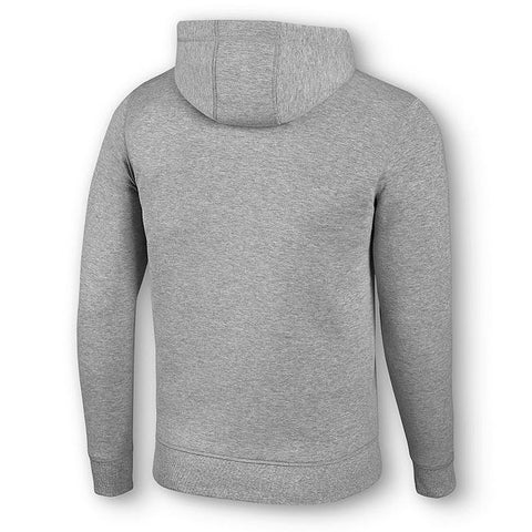 Embossed Bar & Shield® Logo Grey Pullover Hoodie