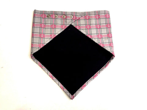 HD Checked Stone Bandana