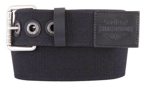 Bad Manners Genuine Leather Trims Belt
