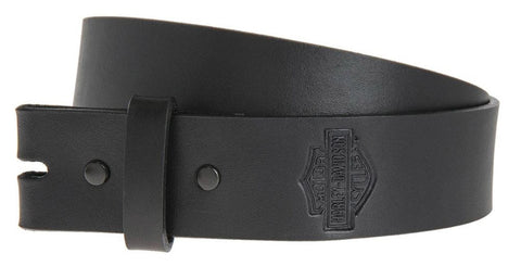 Plain & Simple Bar & Shield Belt Strap
