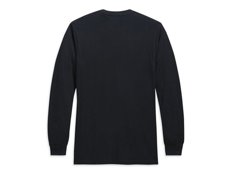 Hyphen HD® Black Longsleeve Shirt