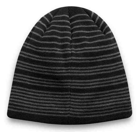 Grey Stripes Beanie