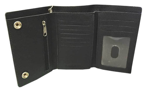 Embossed #1 Trucker Tri-Fold Plus Wallet