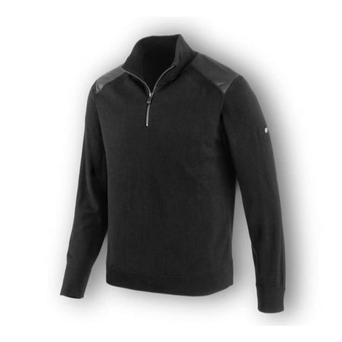 Wool Blend 1/4-Zip SlimFit Sweater