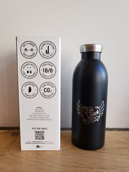 * HotBlack - Unique Branded Stainless Steel Thermos