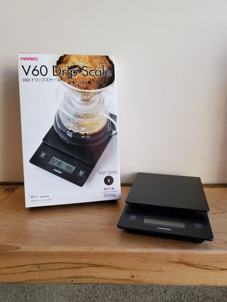 * Brewing Equipment - Hario V60 Coffee Electronic Drip Scale & Timer