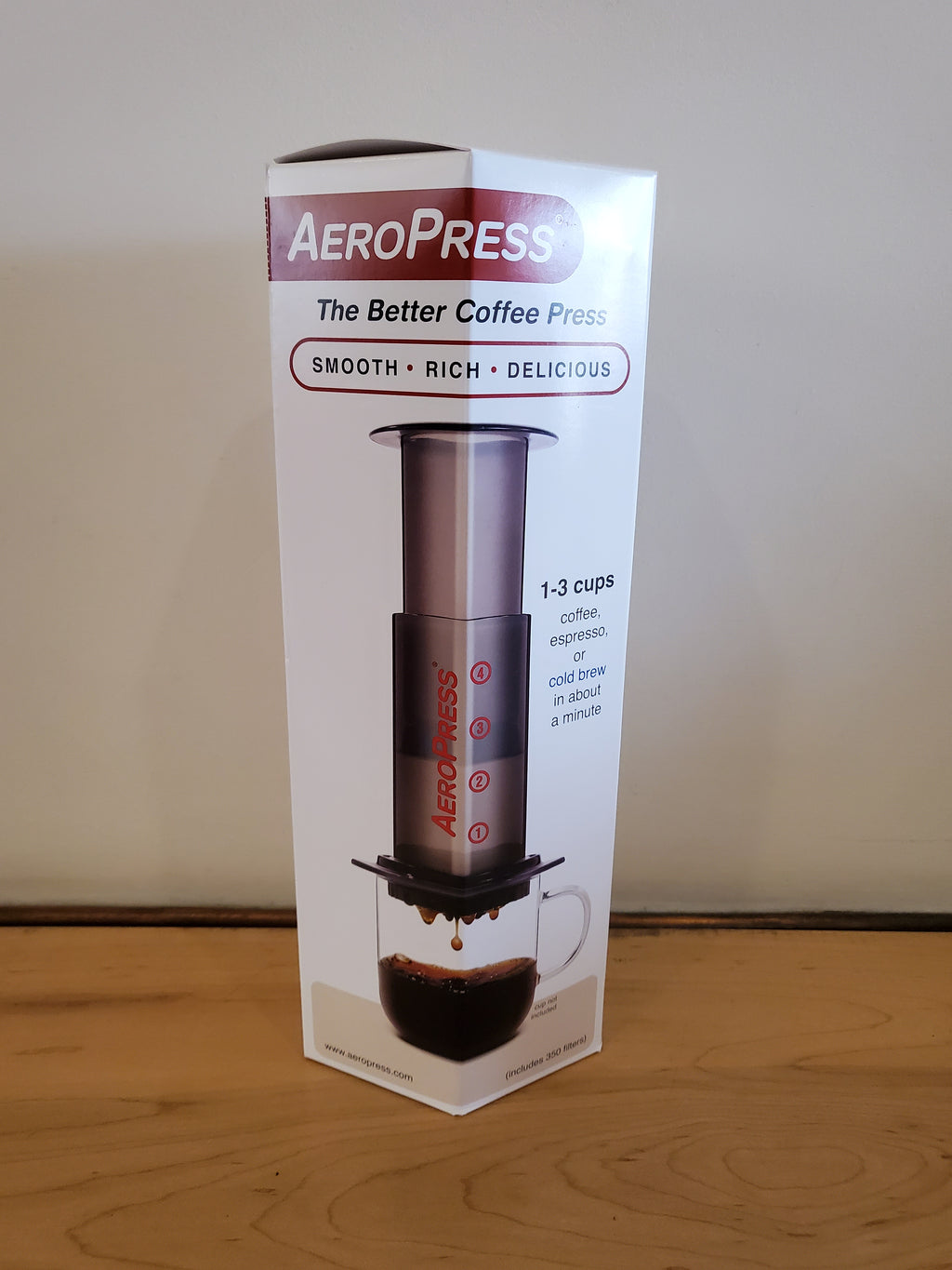 * Brewing Equipment - Aeropress Coffee Maker