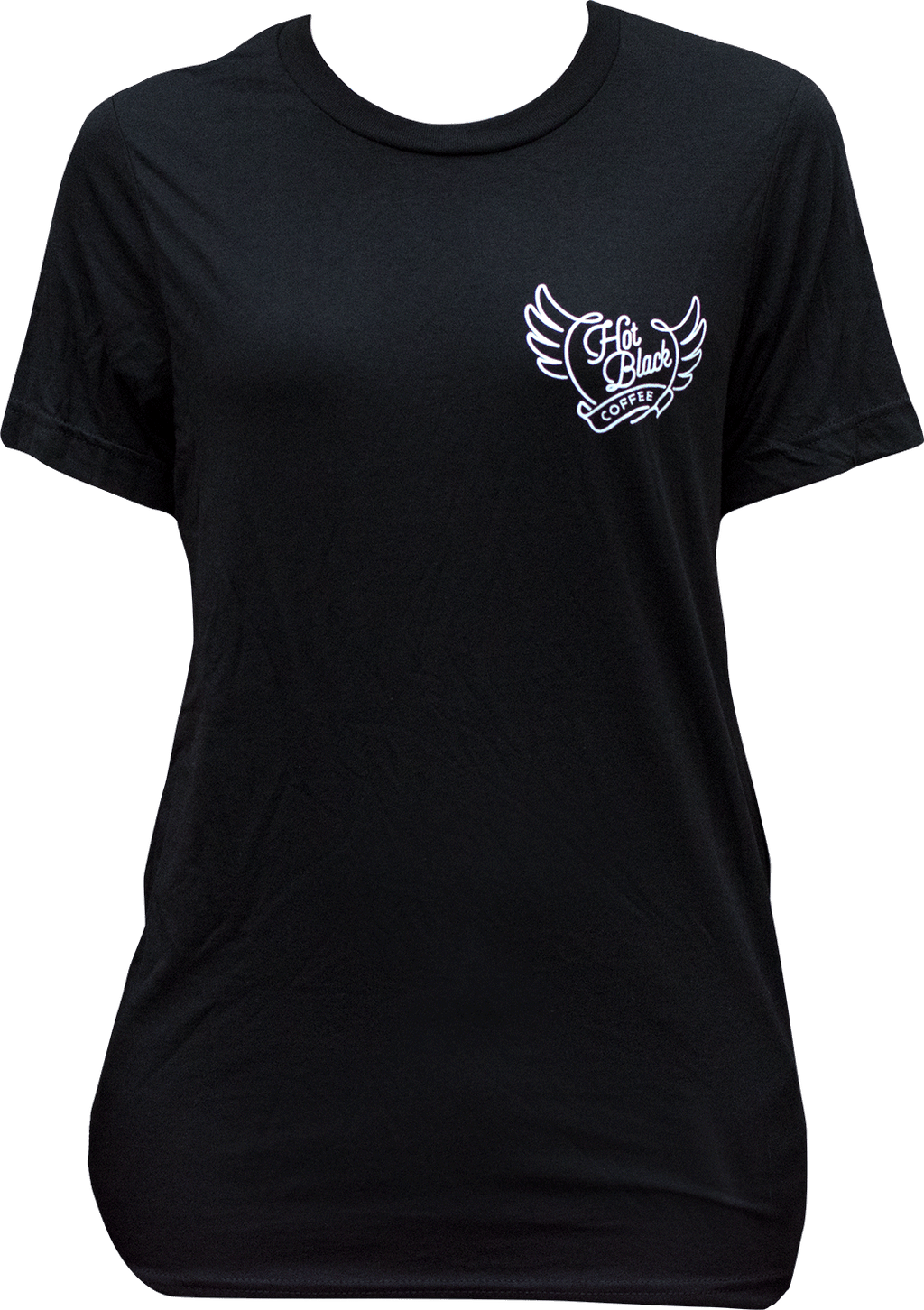 T-Shirt - Branded, all black, unisex