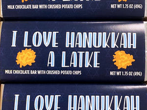 Hanukkah Potato Chip Chocolate Bars - LOCAL PICKUP ONLY