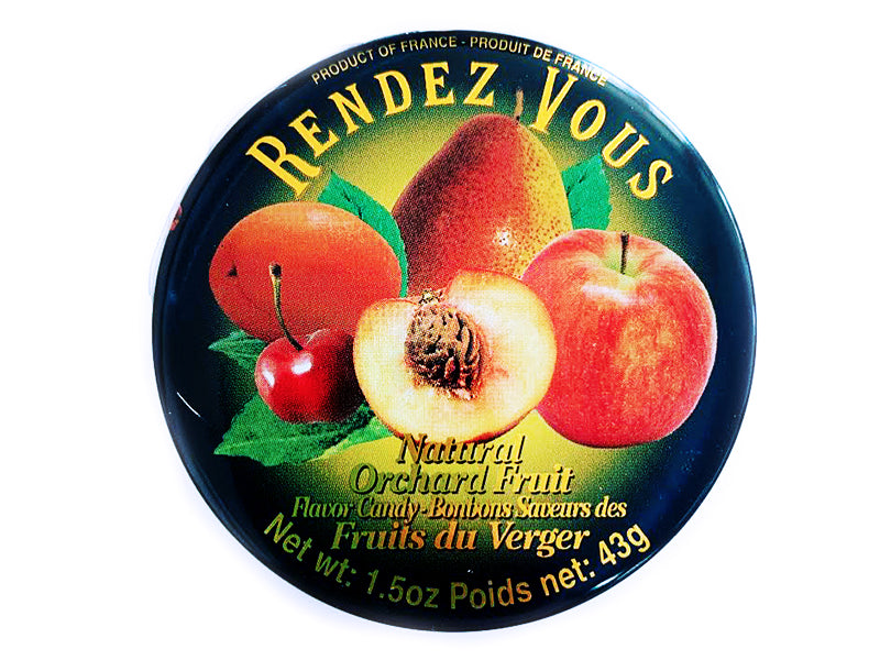 Rendezvous Fruit Bonbon Tins - LOCAL PICKUP ONLY