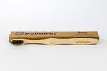Boo: Charcoal-Infused Bamboo Toothbrush