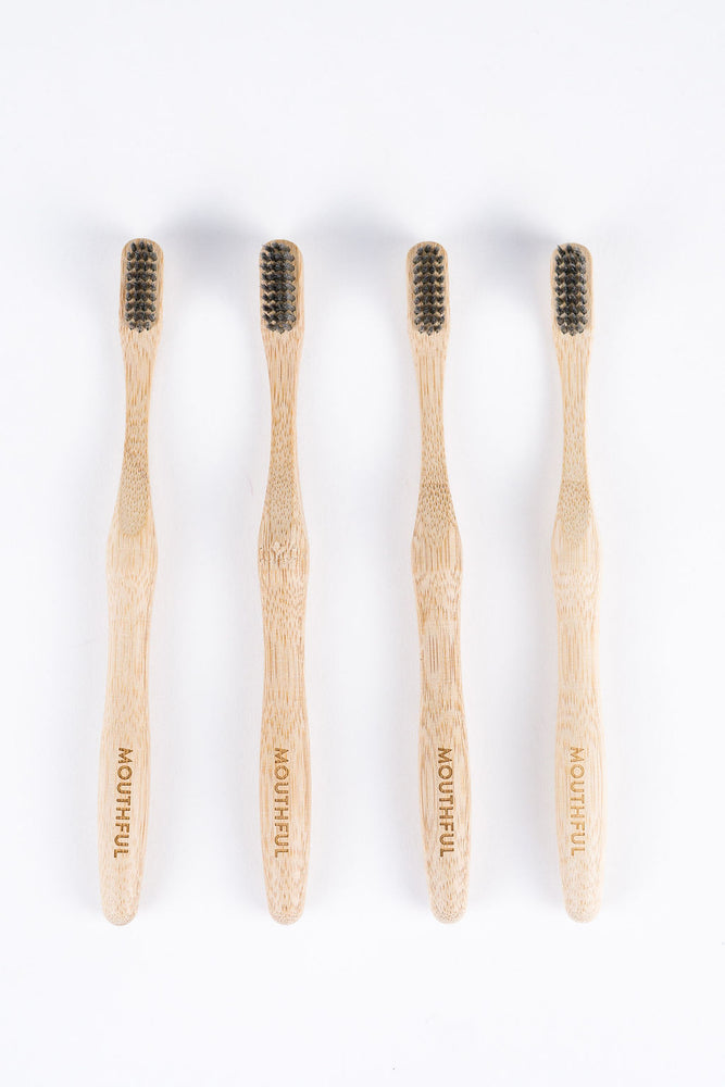 Year of Charcoal-Infused Bamboo Toothbrushes
