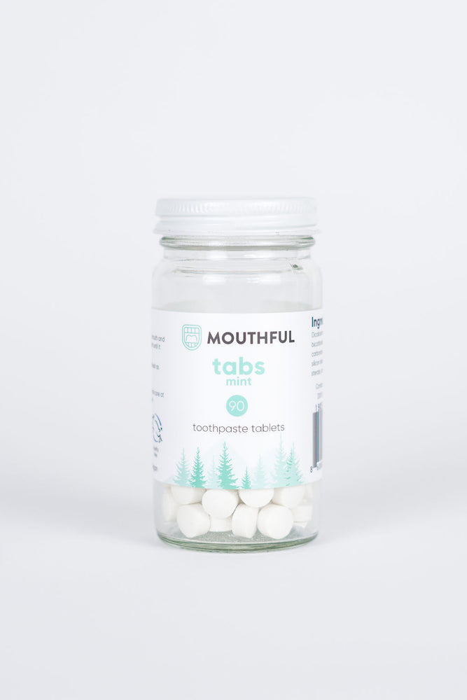 Tabs Cruelty Free Vegan Sls Fluoride Free Travel Friendly Toothpa Mouthful