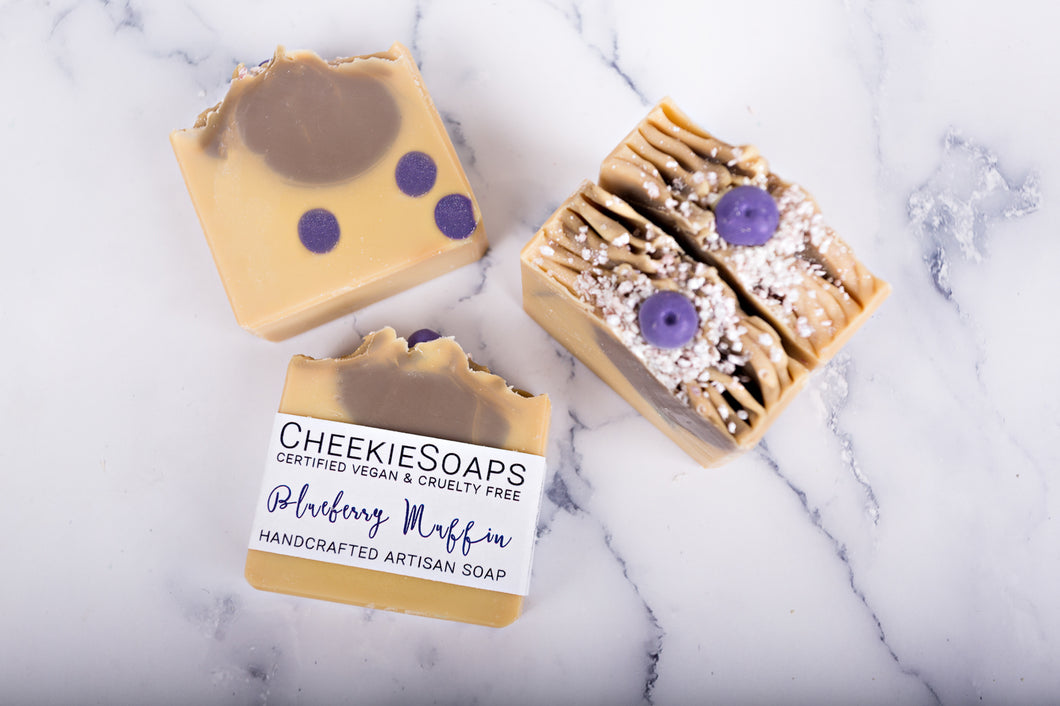 Blueberry Muffin Artisan Soap