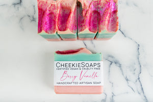 Berry Vanilla Artisan Soap