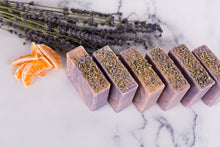 Load image into Gallery viewer, Clementine Lavender Artisan Soap