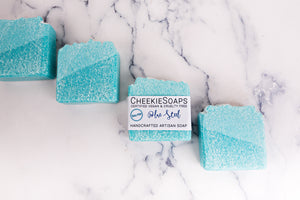 Salted Blue Steel Artisan Soap