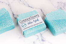 Load image into Gallery viewer, Salted Blue Steel Artisan Soap