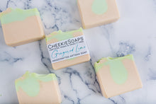 Load image into Gallery viewer, Gingered Lime Artisan Soap