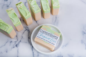 Gingered Lime Artisan Soap