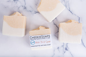 Salted White Tea & Ginger Artisan Soap