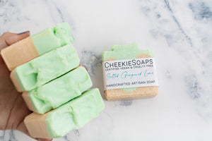 Salted Gingered Lime Artisan Soap