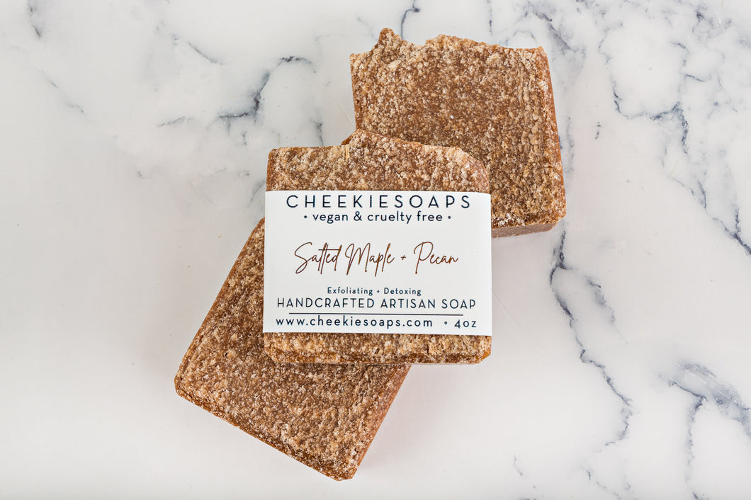 Salted Maple and Pecan Artisan Soap