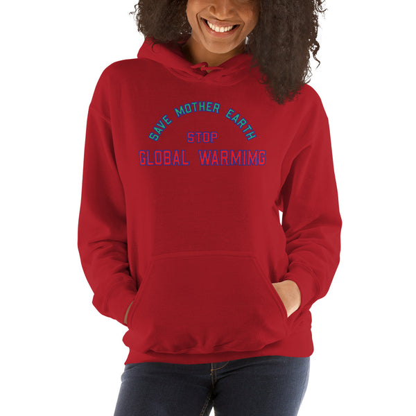 Unisex Save Mother Earth Hoodie Sweatshirt