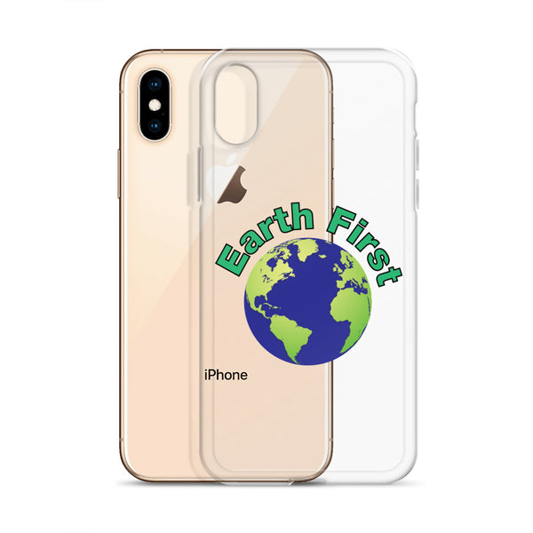 Earth First iPhone Case
