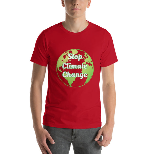 Stop Climate Change Tee Shirt