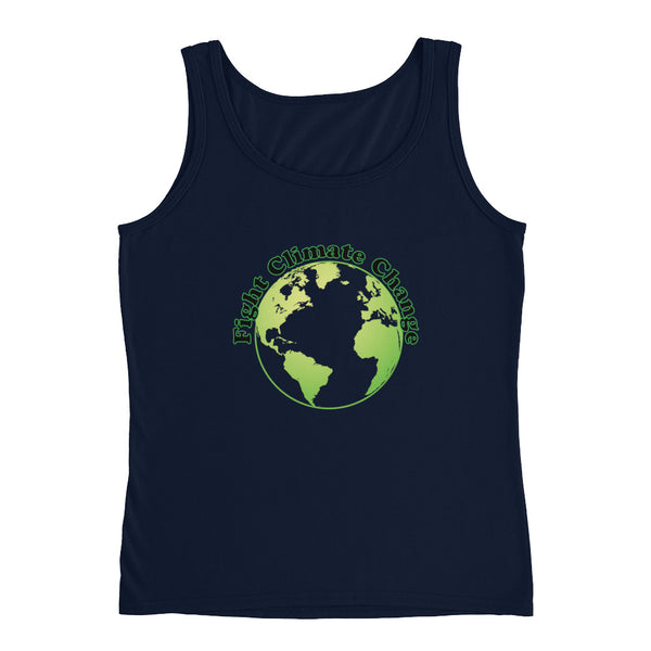 fight Climate Change Tank Top