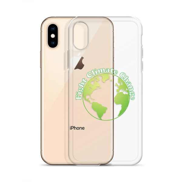 Fight Climate Change iPhone Case