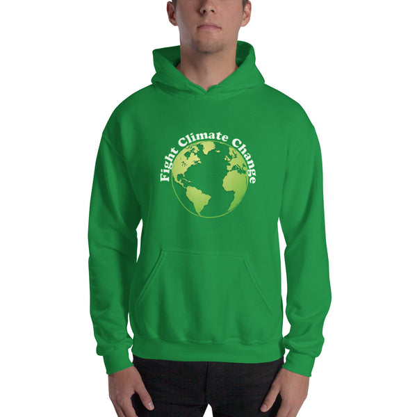 Unisex Fight Climate Change Hoodie Sweatshirt