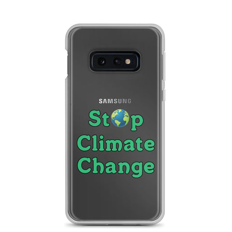 Stop Climate Change Samsung Case