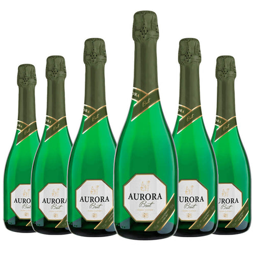 Aurora Espumante Brut kit c/6 750ml