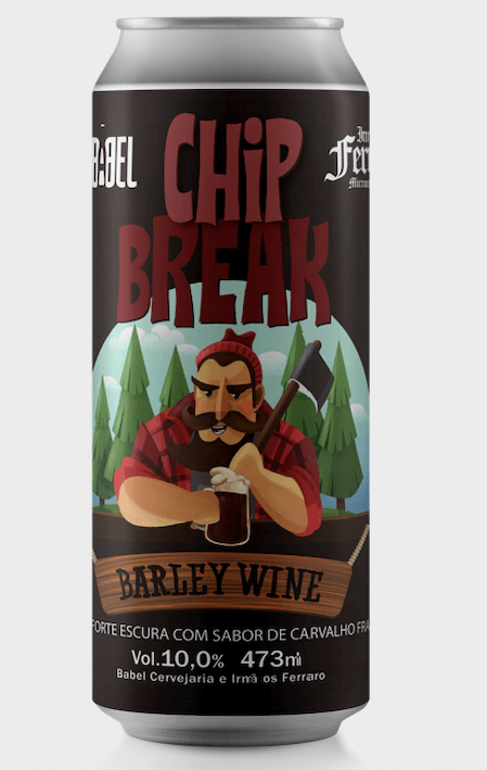 Babel Chip Break Barleywine Cerveja Lata 473 ml