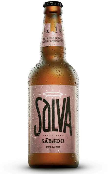 Cerveja Salva Sabado Belgian Strong Ale 500ml
