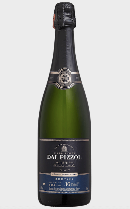 Espumante Brut Traditionelle Champenoise Dal Pizzol 750ml