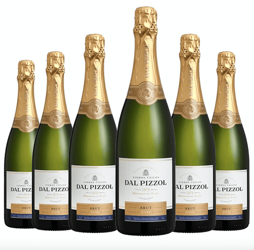 Espumante Brut Dal Pizzol Kit c/6 - 750ml