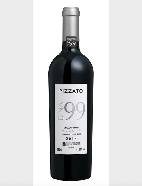 Pizzato Vinho DNA99 Single Vineyard Merlot - 750ml