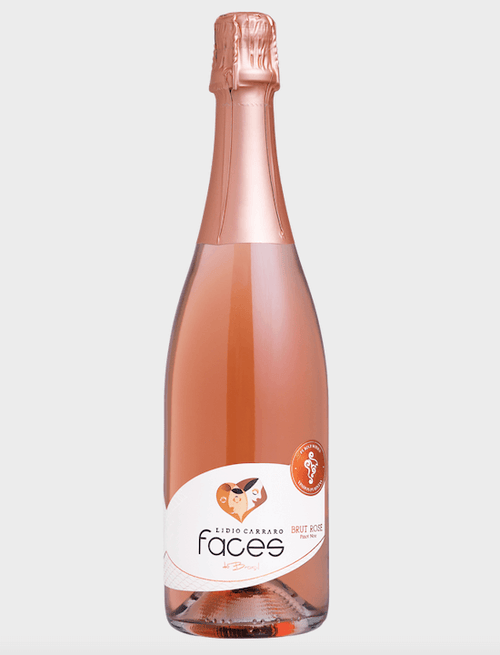 Lidio Carraro Faces do Brasil Brut Rosé Espumante 750 ml