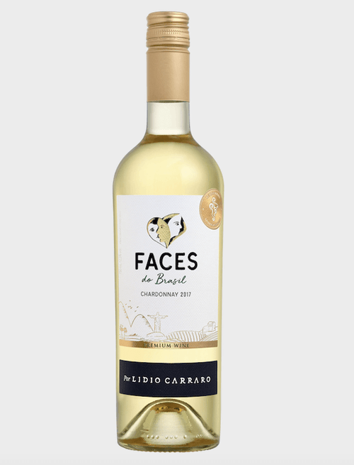 Lídio Carraro Faces do Brasil Chardonnay Vinho 750 ml
