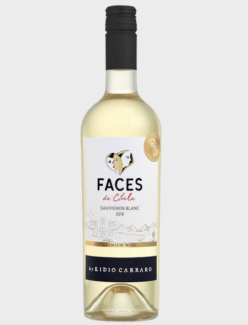 Lídio Carraro Faces de Chile Sauvignon Blanc Vinho 750 ml